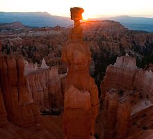 Thors Hammer Sunrise, Bryce Canyon National Park, Utah by Alan C Williams