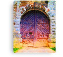 Fairies live here Canvas Print