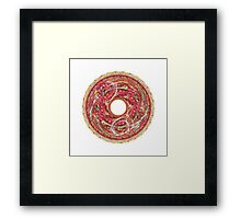 APO No. 9 Crayonoc Pizza/Cacaphony Framed Print