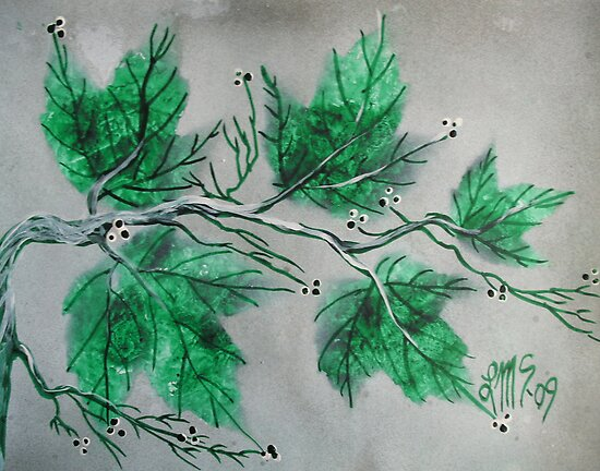 MAY Emerald Maples by linmarie