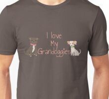 I love my grandoggies Unisex T-Shirt