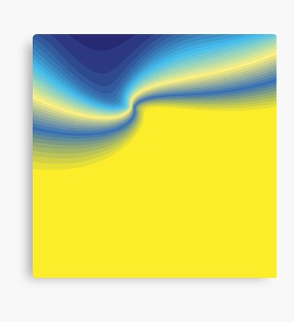 Yellow Blast Canvas Print