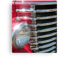 Red Classic Canvas Print