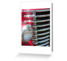 Red Classic Greeting Card