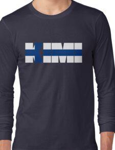 Kimi Raikkonen Long Sleeve T-Shirt