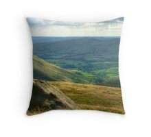 Edale: The Peak District Throw Pillow