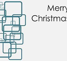 Merry Christmas greeting card by Warp9