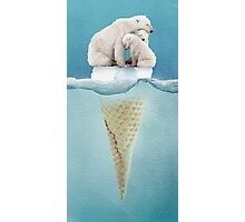 polar ice cream cap 02 Photographic Print
