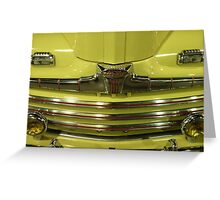 Ford - Mellow Yellow Greeting Card