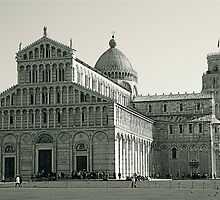 Leaning Tower of Pisa by Gursimran Sibia