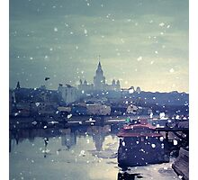 Happy winter to you! Photographic Print