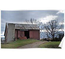 Horse Schuh Farms Poster