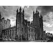 School of Divinity - B&W Photographic Print