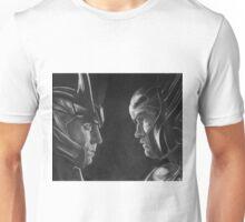 Jotunheim and Asgard Unisex T-Shirt