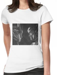 Jotunheim and Asgard Womens Fitted T-Shirt