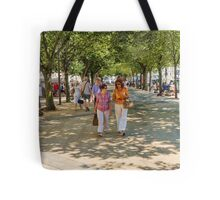 Stepping it out in La Rochelle, France Tote Bag