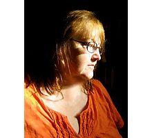 orange love Photographic Print