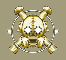 Art Deco Gasmask by Rustyoldtown