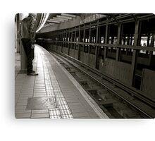 Subway,NYC Canvas Print