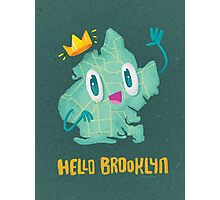 Hello Brooklyn Photographic Print