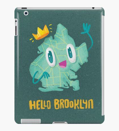Hello Brooklyn iPad Case/Skin