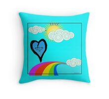 Secret #13: Somebody Loves...YOU! Throw Pillow