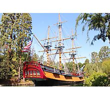 Sailing Ship Columbia. Photographic Print