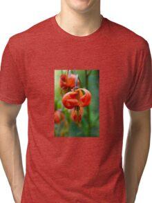 Fiery Flower Tri-blend T-Shirt
