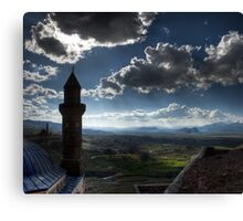 Minaret and palace Canvas Print