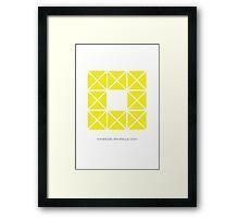 Design 7 Framed Print
