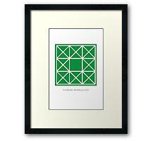 Design 86 Framed Print
