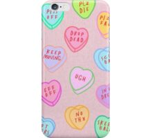 Candy Hearts Phone Case iPhone Case/Skin