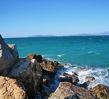 Sea,Stone and Sky by robertpatrick