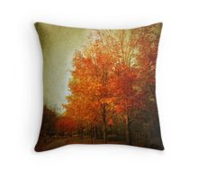 Autumn Aglow Throw Pillow