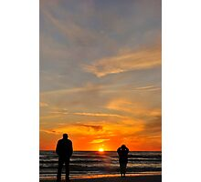 My Husband and the Stranger Photographic Print