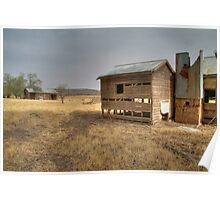 Old house near Cowra Poster