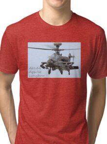 AH-64 Apache Longbow  Tri-blend T-Shirt