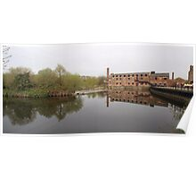 Thwaite Mill on the Aire & Calder Navigation Poster