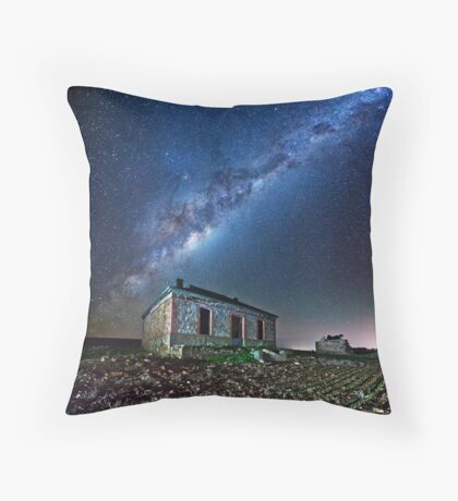 Burra North Ruin and Galaxy Throw Pillow