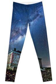 Burra North Ruin and Galaxy Leggings