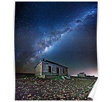 Burra North Ruin and Galaxy Poster