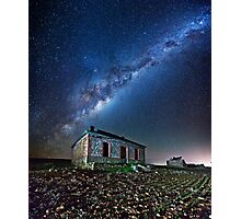 Burra North Ruin and Galaxy Photographic Print