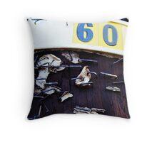 600 Throw Pillow