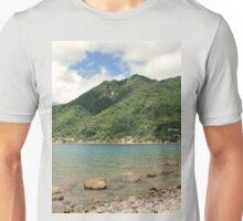 a desolate Dominica landscape Unisex T-Shirt