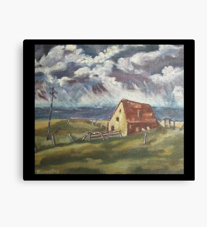 Fisherman's Cottage by Peter the Red Canvas Print