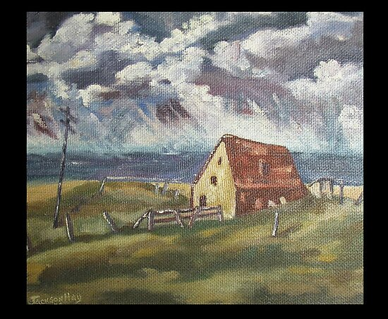 Fisherman's Cottage by Peter the Red by Alex Gardiner