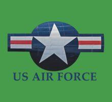 US Air Focre T-Shirt One Piece - Short Sleeve