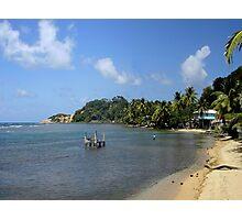 a vast Dominica landscape Photographic Print