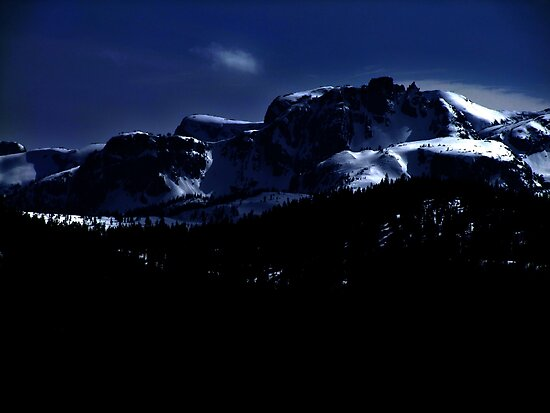 Moonlit Mountains by George Cousins