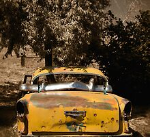 Old Yellow Taxi by Erin Kanoa